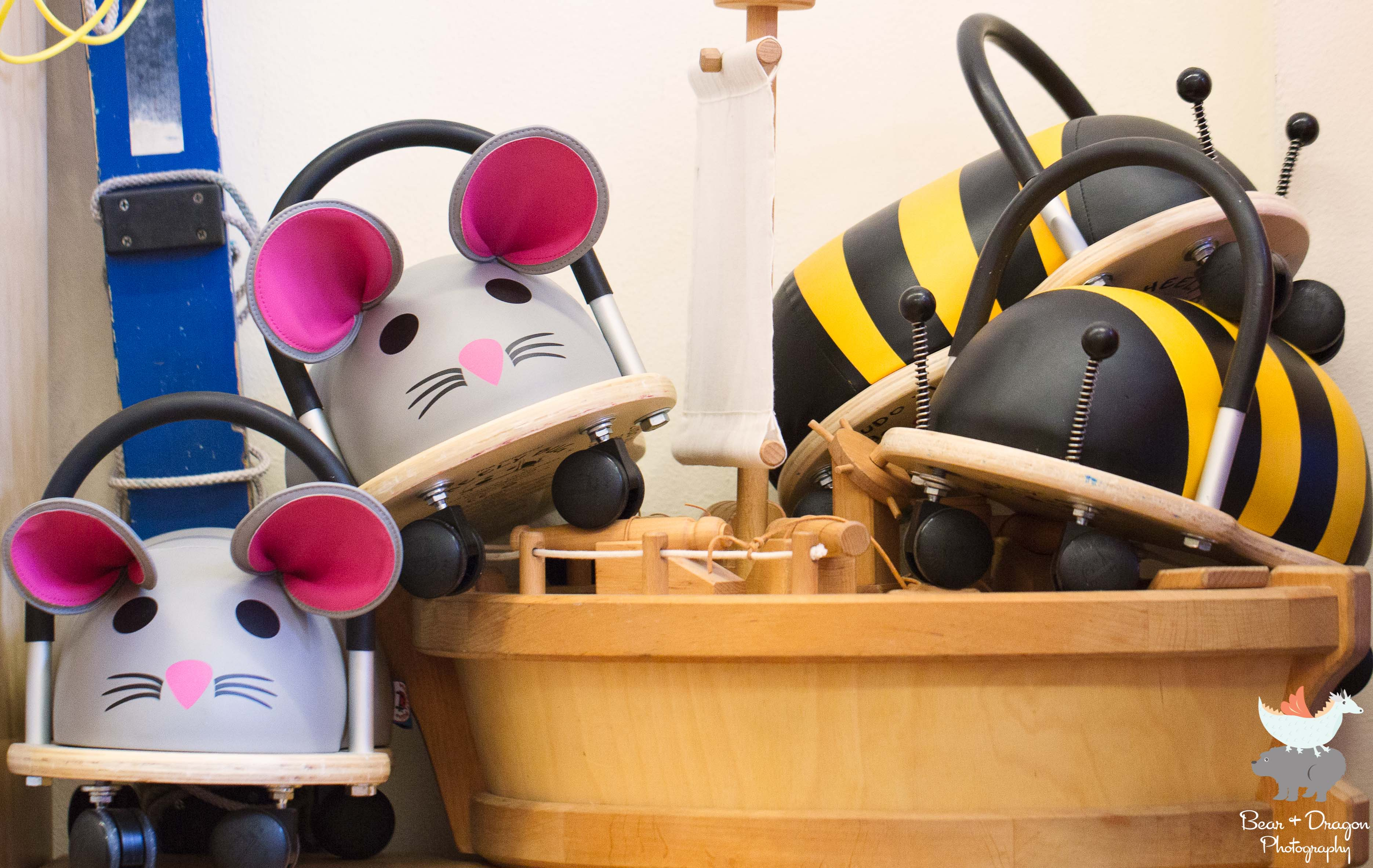 Are you a mouse or a bee?
